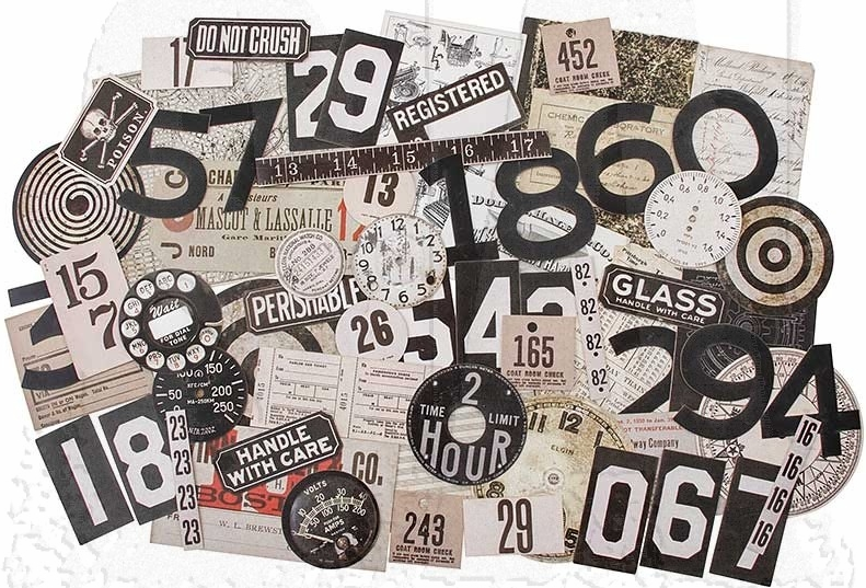 *NEW Tim Holtz Idea-ology - Ephemera Layers- Urban