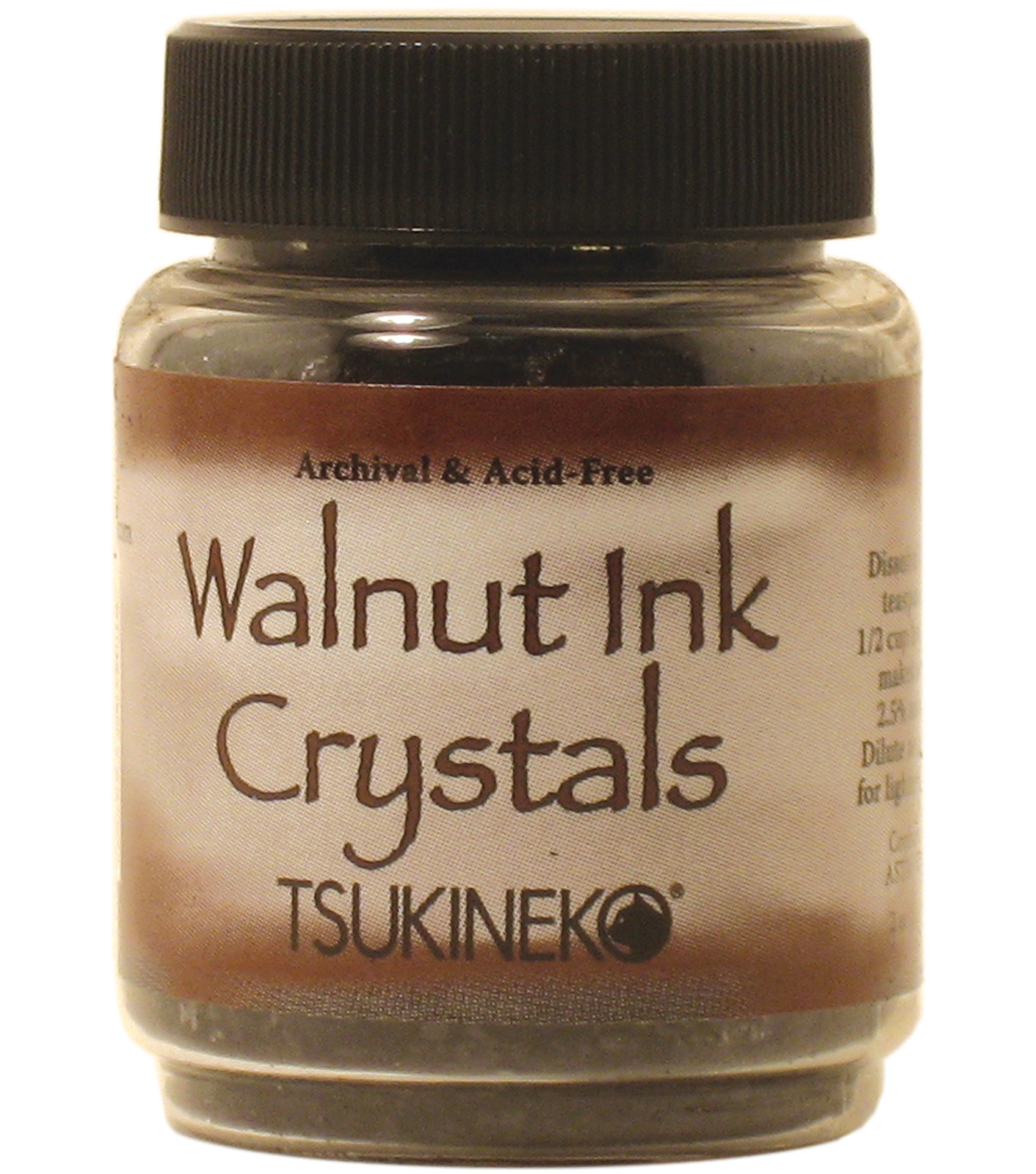 Tsukineko Walnut Crystals 2 oz. Bottle