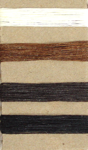 Irish Waxed Linen Book Binding Thread - Nuetrals Combo Asst.