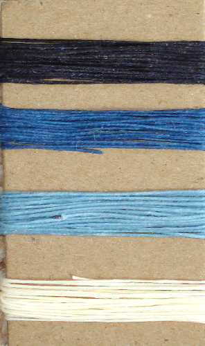 Irish Waxed Linen Book Binding Thread - Winter Snow Combo Asst.
