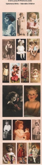 yourATCstore Ephemera Minis - Adorable Children
