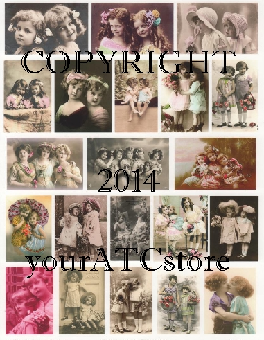 yourATCstore Sister Collage Sheet