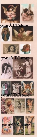 yourATCstore Ephemera Minis - Angelic Images