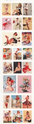 yourATCstore Ephemera Minis - Retro Girls